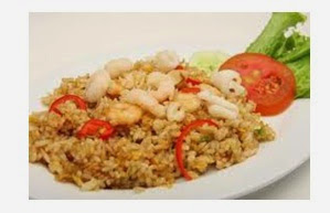 Latest squid fried rice recipe