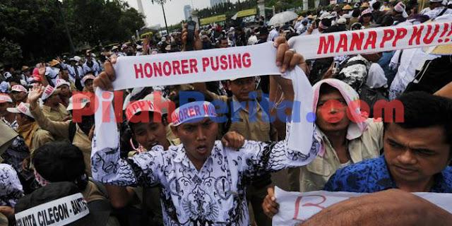 JIKA UU ASN DISETUJUI, HONORER, GTT DAN PTT DENGAN MASA KERJA MINIMAL 3 TAHUN WAJIB DIANGKAT PNS !!