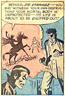 Strange Tales #110, Dr Strange, Nightmare