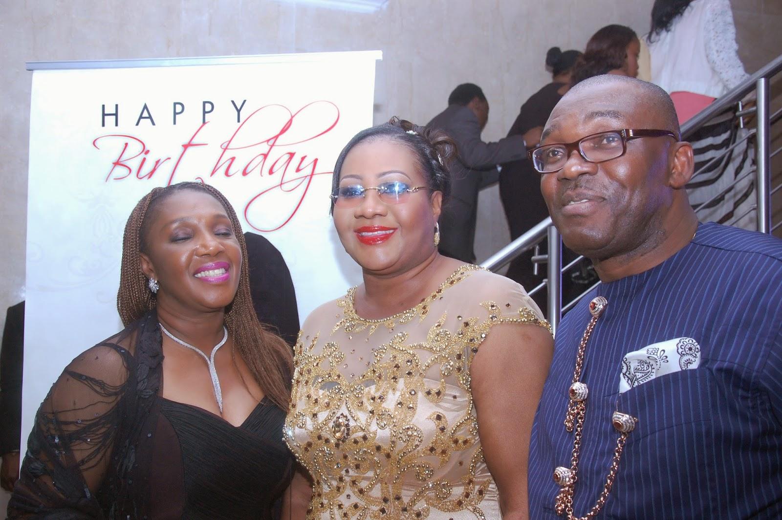 PHOTOS: Star-studded birthday party for Toolz! - Nigerian