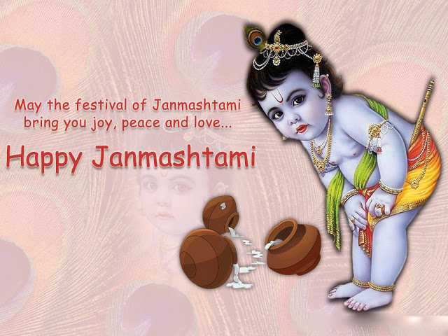 40 Beautiful Happy Krishna Janmashtami Wishes Images