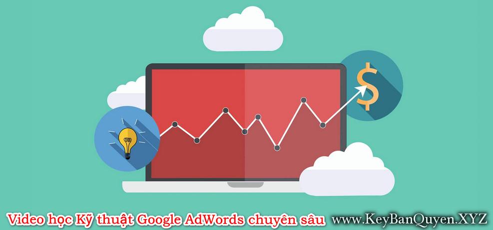 Video học Kỹ thuật Google AdWords chuyên sâu