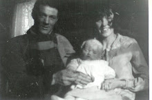 John and Alma May Williams with first son John.