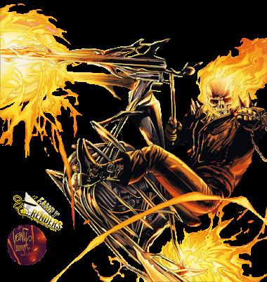 render Ghost Rider (Johnny Blaze)