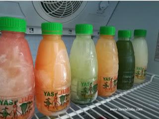 minuman segar isi sayur dan buah