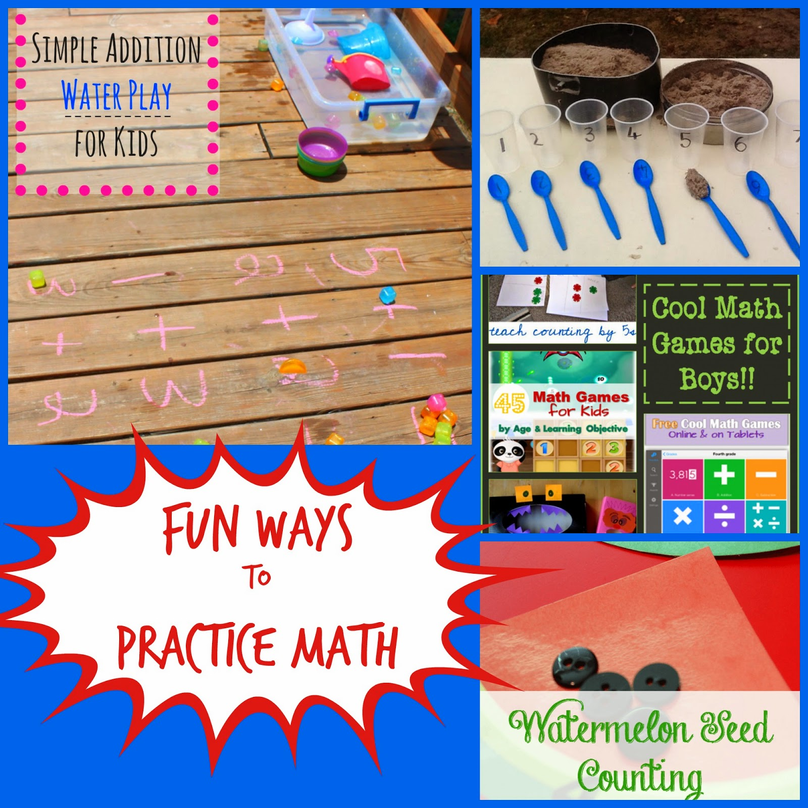 Ways to Make Math Fun from Mom's Library