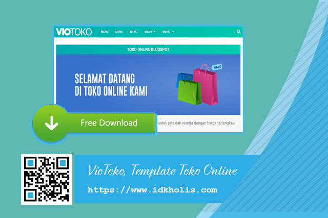 Download-VioToko-Template-Toko-Online-Blogspot