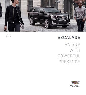 Downloadable 2016 Cadillac Escalade ESV Brochure