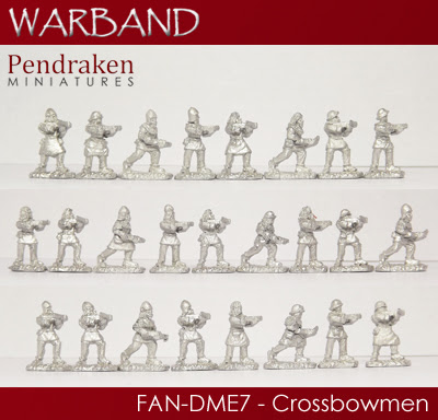 FAN-DME7   25 x Crossbowmen