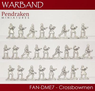 FAN-DME7   25 x Crossbowmen