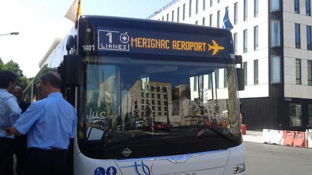 Ônibus em Bordéus