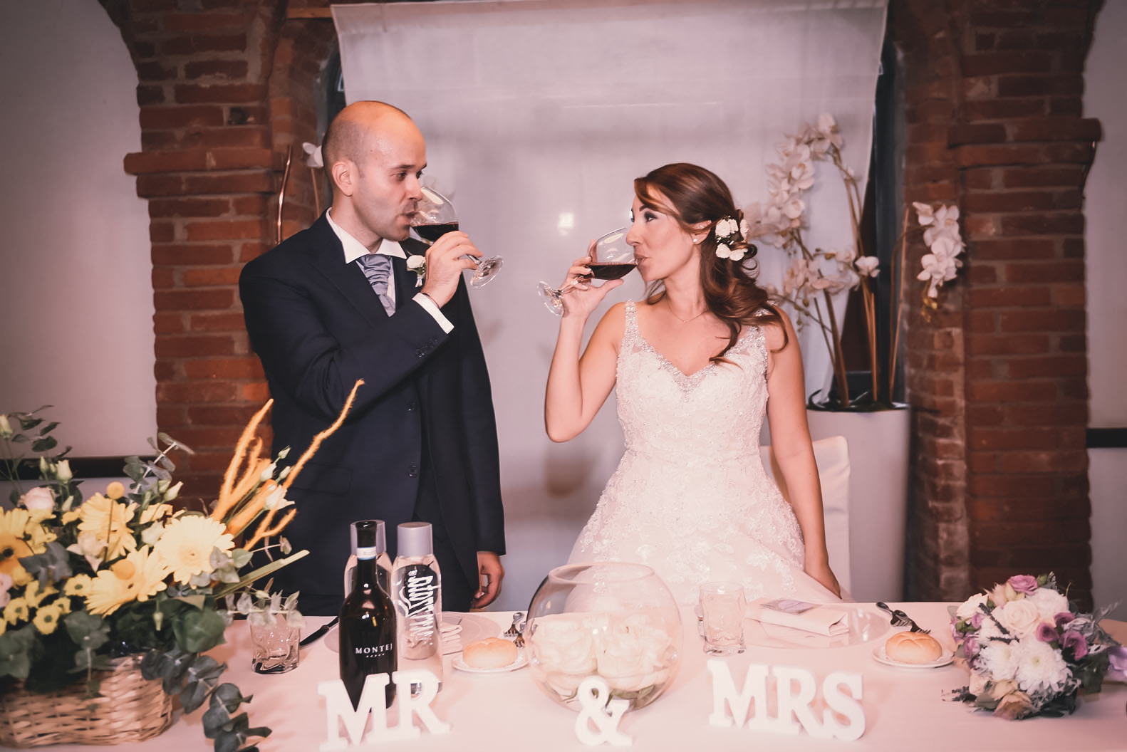 Come allestire tavolo sposi  Mr&Mrs