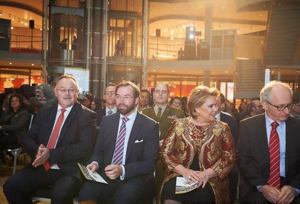 Duchess Maria Teresa, Prince Guillaume, Princess Stephanie, Duke Jean, Duchess Joséphine-Charlotte