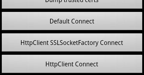 Using a Custom Certificate Trust Store on Android