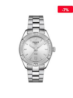 Ceas dama metalic elegant Tissot T1019101103100