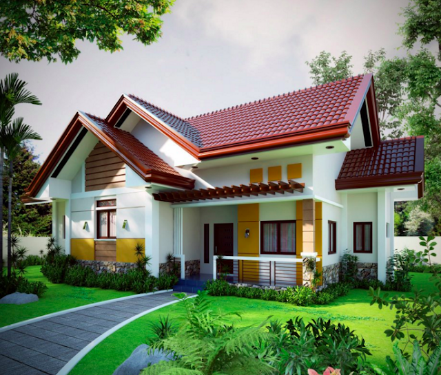 20 small beautiful bungalow house design ideas ideal for for Beautiful small houses