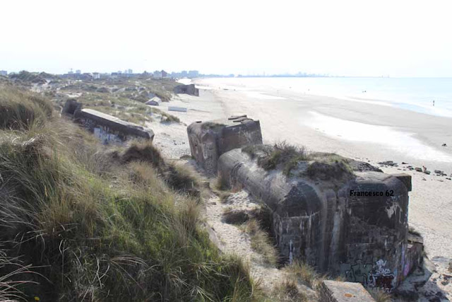 Bunkers plage Leffrinckoucke