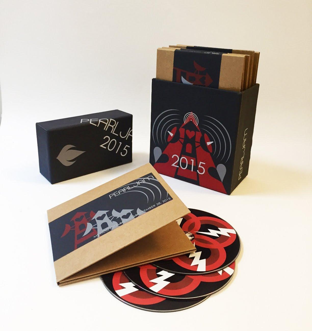 THE SKY I SCRAPE: New Pearl Jam Bootleg Boxes