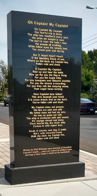 A part of the Jerry Taylor Veterans Memorial Plaza in Sunnyside, WA