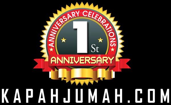 1st Anniversary Kapahjumah.com ada Kuis