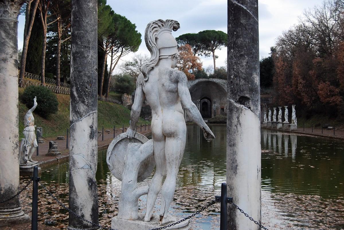canope villa Hadriana