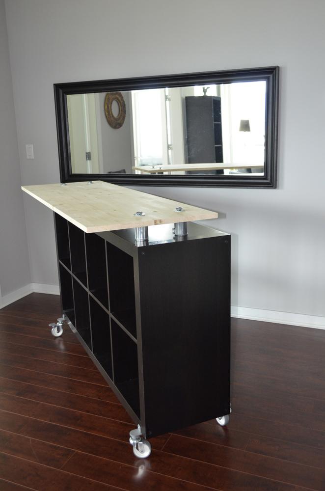 Ikea Hack - Expedit standing desk