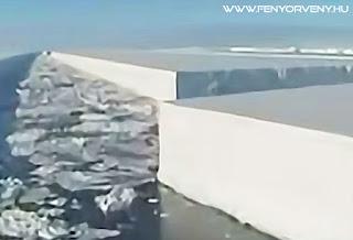 Mesterségesen vágják az űrből a jégtáblákat?