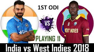 India vs West Indies 1st ODI