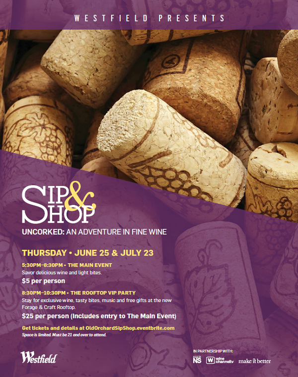 Sip & Shop Event!
