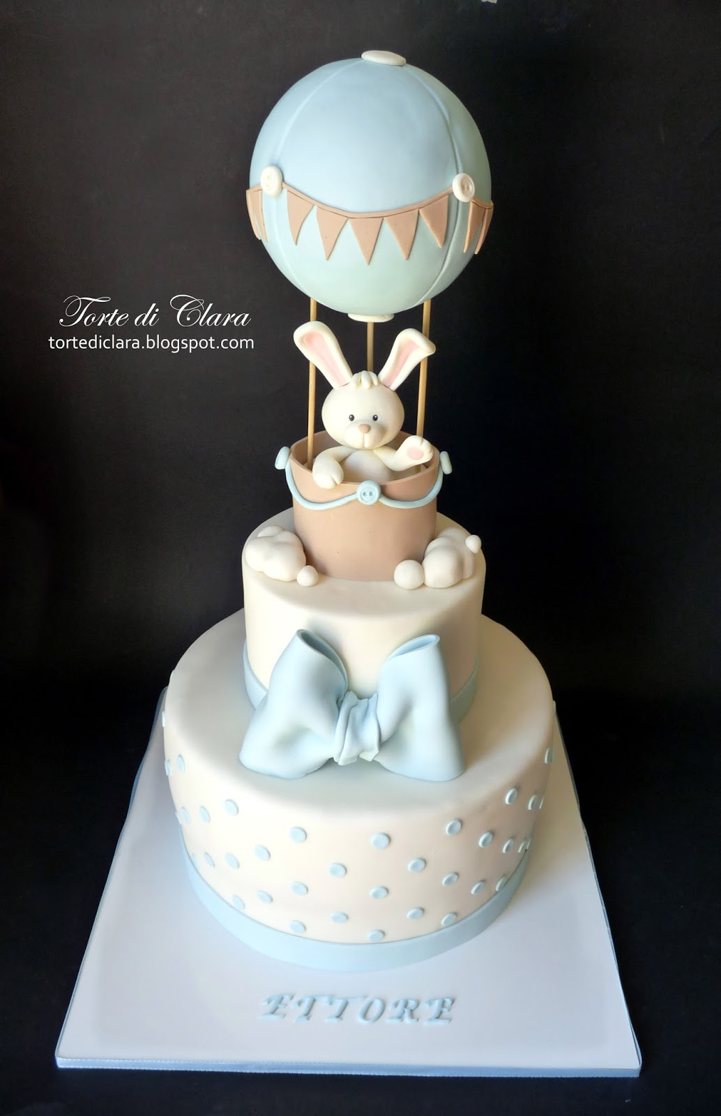 Amato Torte di Clara: Torta Battesimo YL85