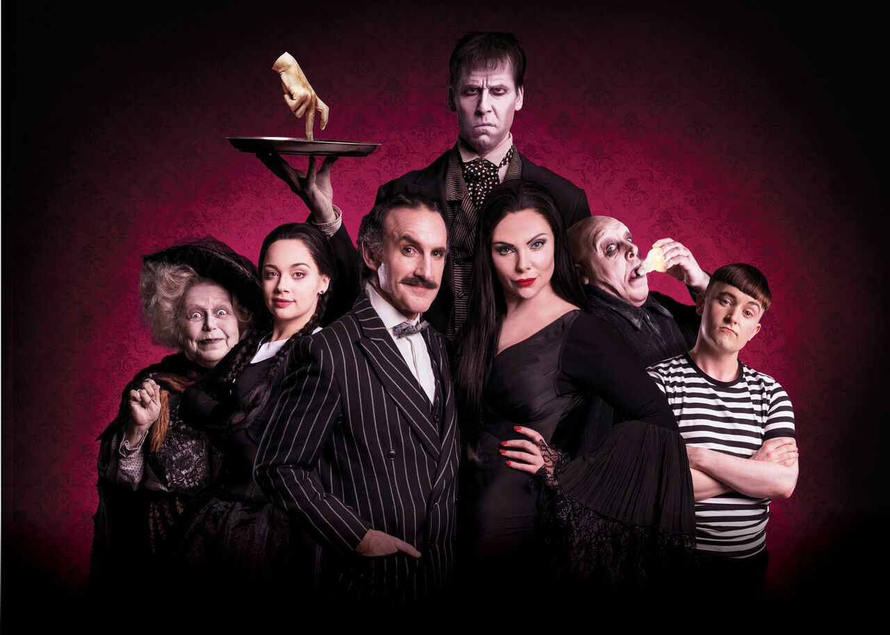 The Addams Family at the Mayflower