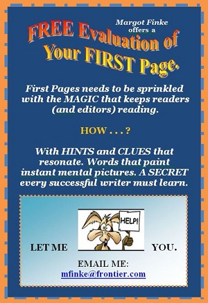 Write First Pages that HOOK Readers.