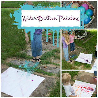 Water Balloon Painting