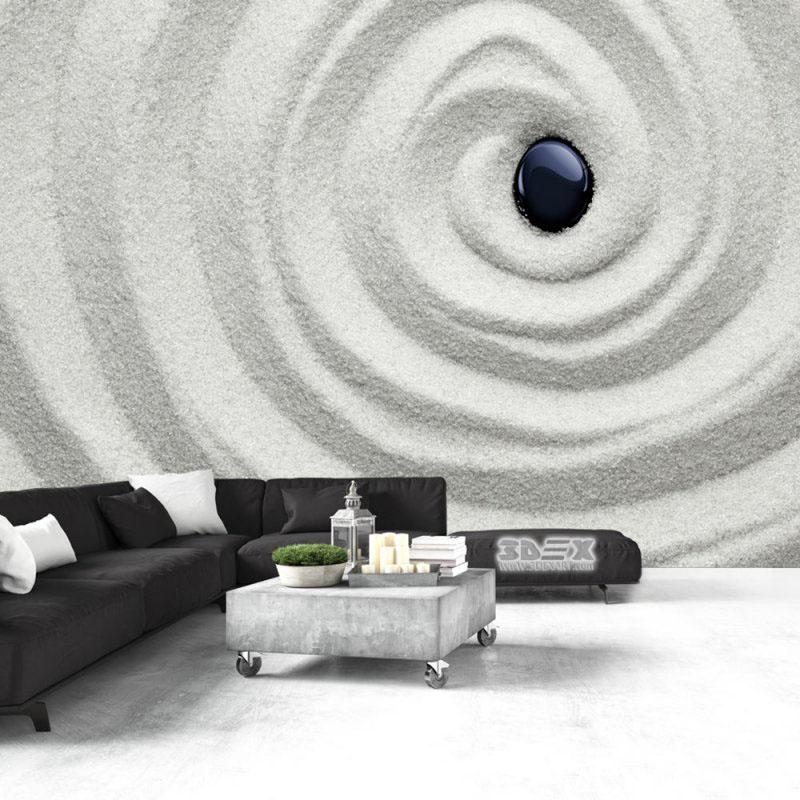 40 stylish 3d wallpaper for living room walls 3d wall murals. Black Bedroom Furniture Sets. Home Design Ideas