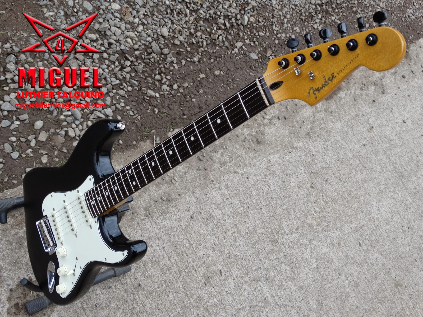 Fender Stratocaster Made In China : luthier miguel4 talca guitarra electrica fender stratocaster made in china cambios ~ Hamham.info Haus und Dekorationen