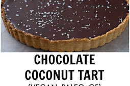 Chocolate Raspberry Coconut Almond Tart Recipe