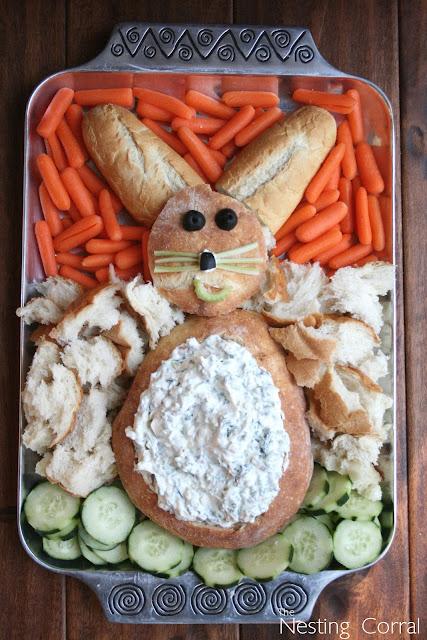 Easter Bunny Dip Bowl