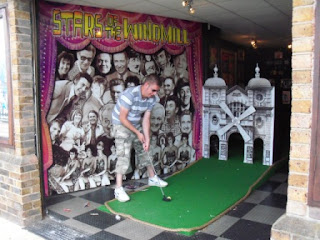 Adventure Golf at Great Yarmouth's Windmill Theatre