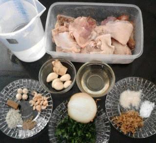Sop Ayam Pak Min Khas Klaten