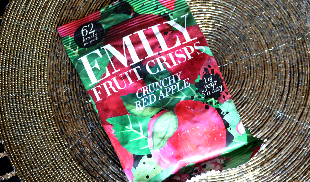 Emily Fruit Crisps in Crunchy Red Apple