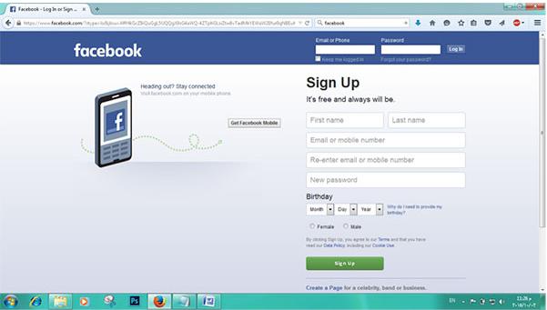 Facebook.com Login New User | Facebook Tips n Tricks on facebook sign up page, facebook log out, facebook about us page, facebook login screen,