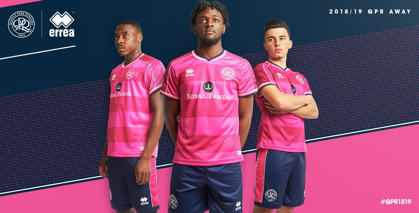 san francisco 632f6 76a71 Queens Park Rangers 18-19 Home & Away Kits Revealed - Footy ...