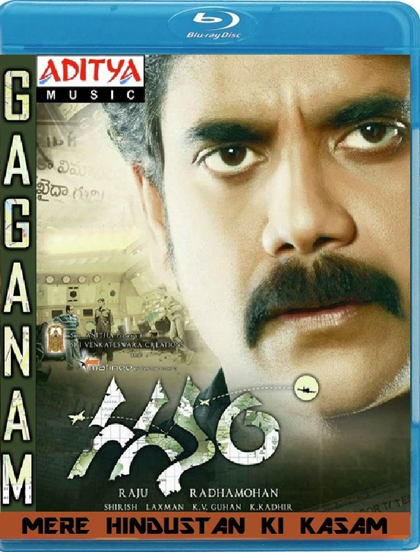 Gaganam 2011 Dual Audio UNCUT BRRip 480p 400mb