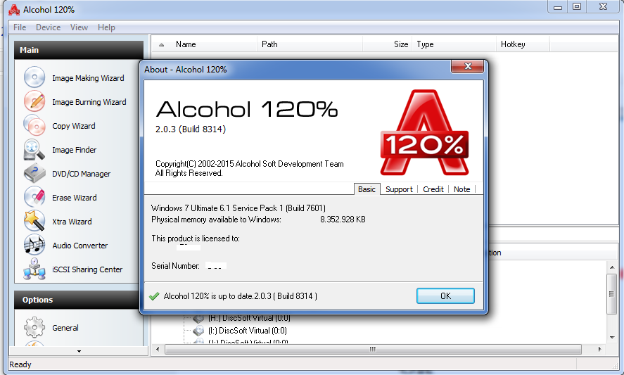 Alcohol 120 Windows 7 Serial Key