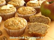 Jablkové muffiny - recept