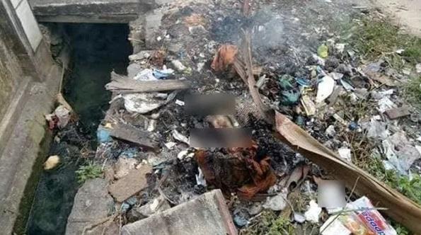 (Video) Ada Bau Busuk, Saya Bakar La Sampah Tu, Rupanya Saya Terbakar Mayat Bayi Sekali