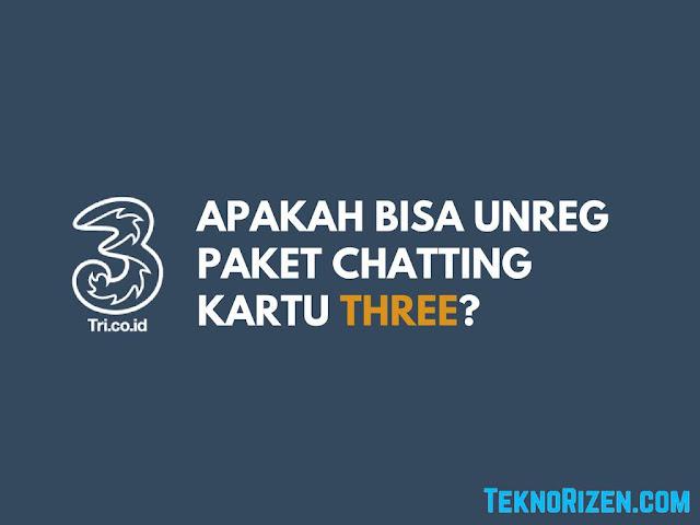 Tri merupakan salah satu provider penyedia jaringan internet UNREG Paket Chatting 3 Three, Apakah Bisa?