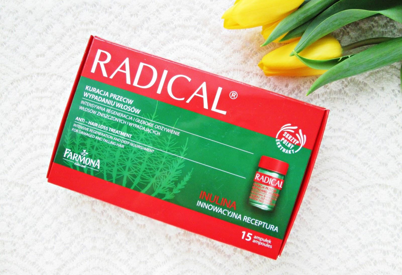 Farmona Radical ampułki Kuracja przeciw wypadaniu włosów
