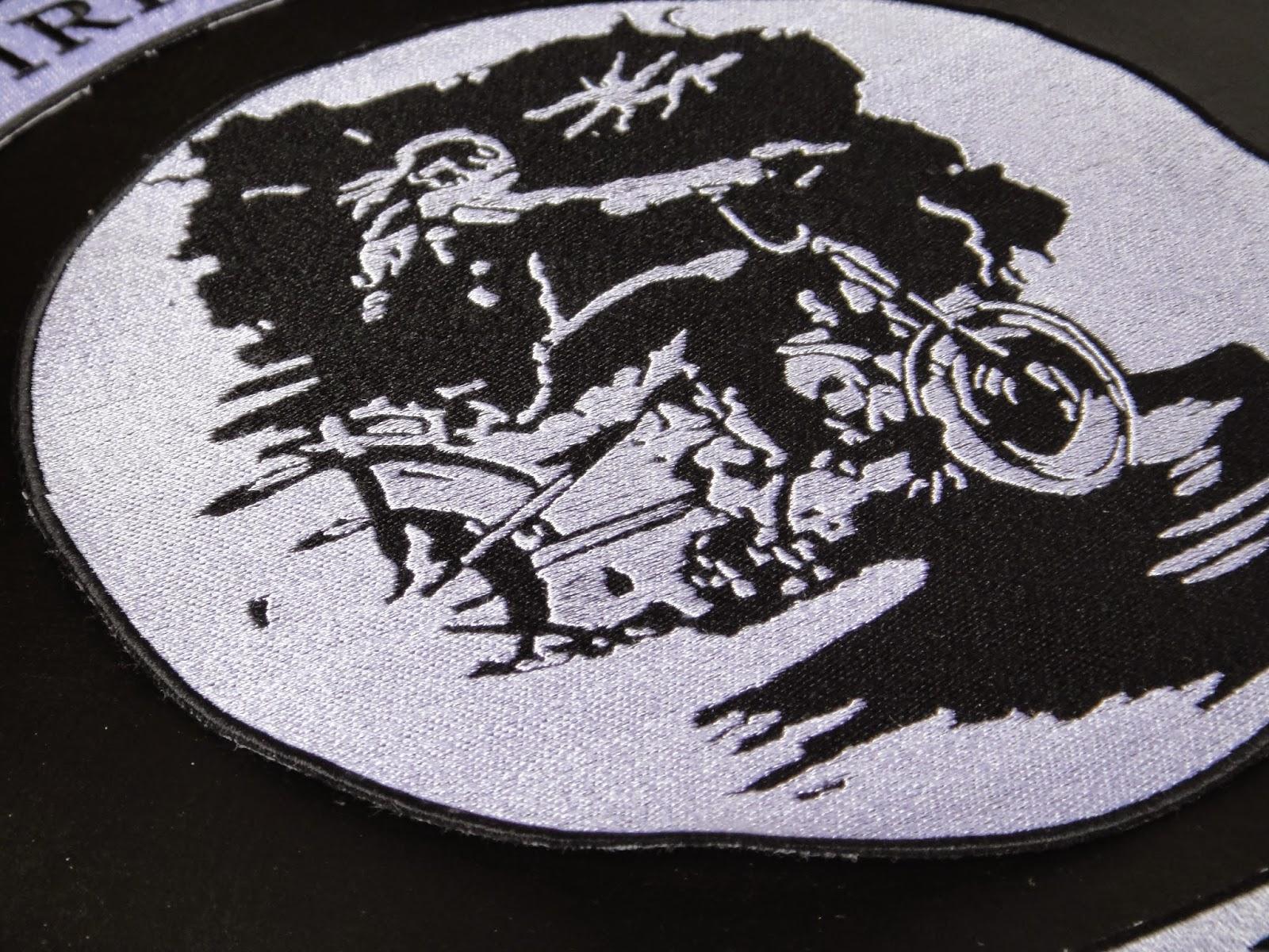 Байкерские нашивки, байкерские эмблемы на заказ