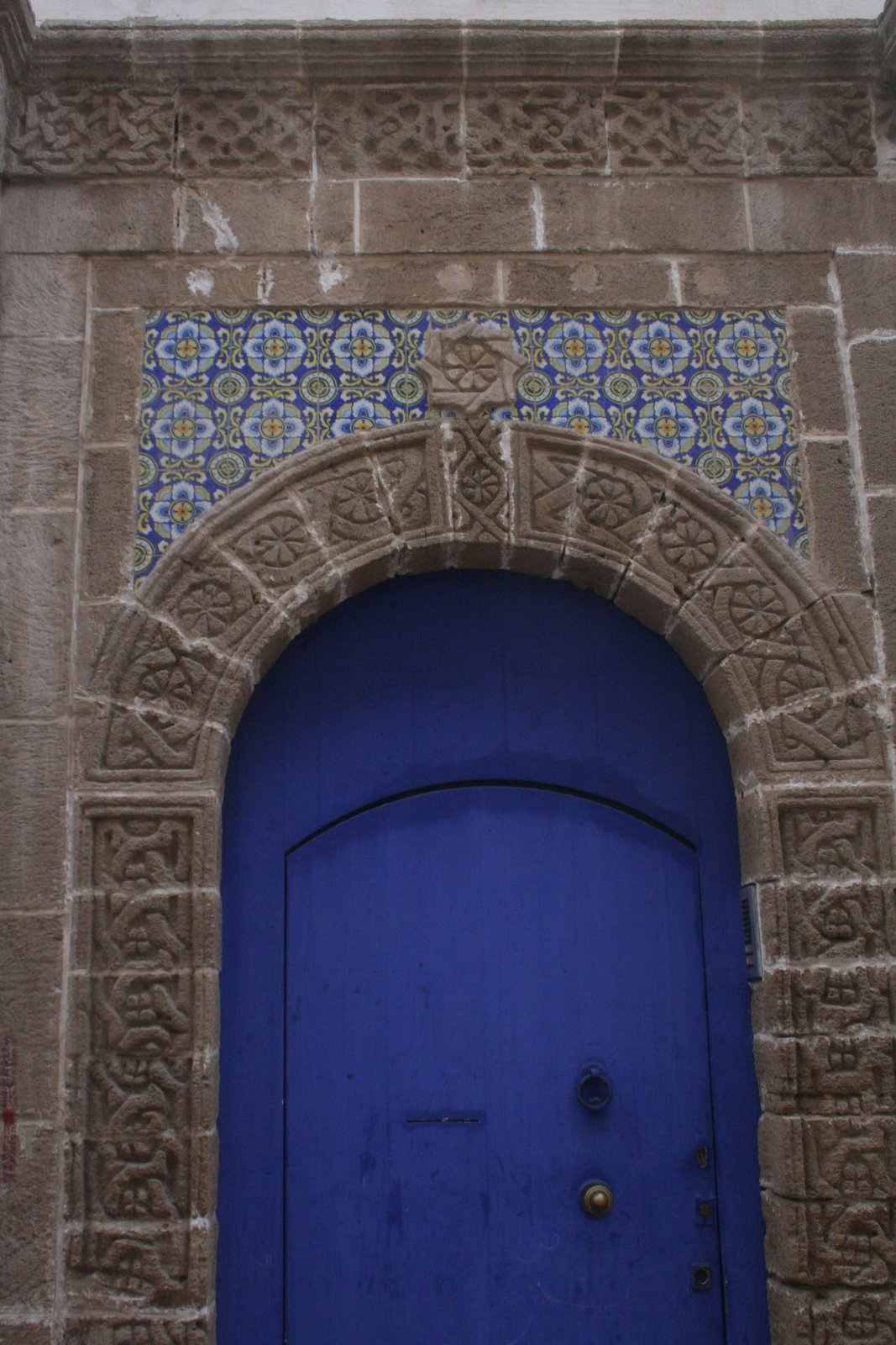 The Good Life in Morocco: Moroccan Carved Stone Door Frames ...
